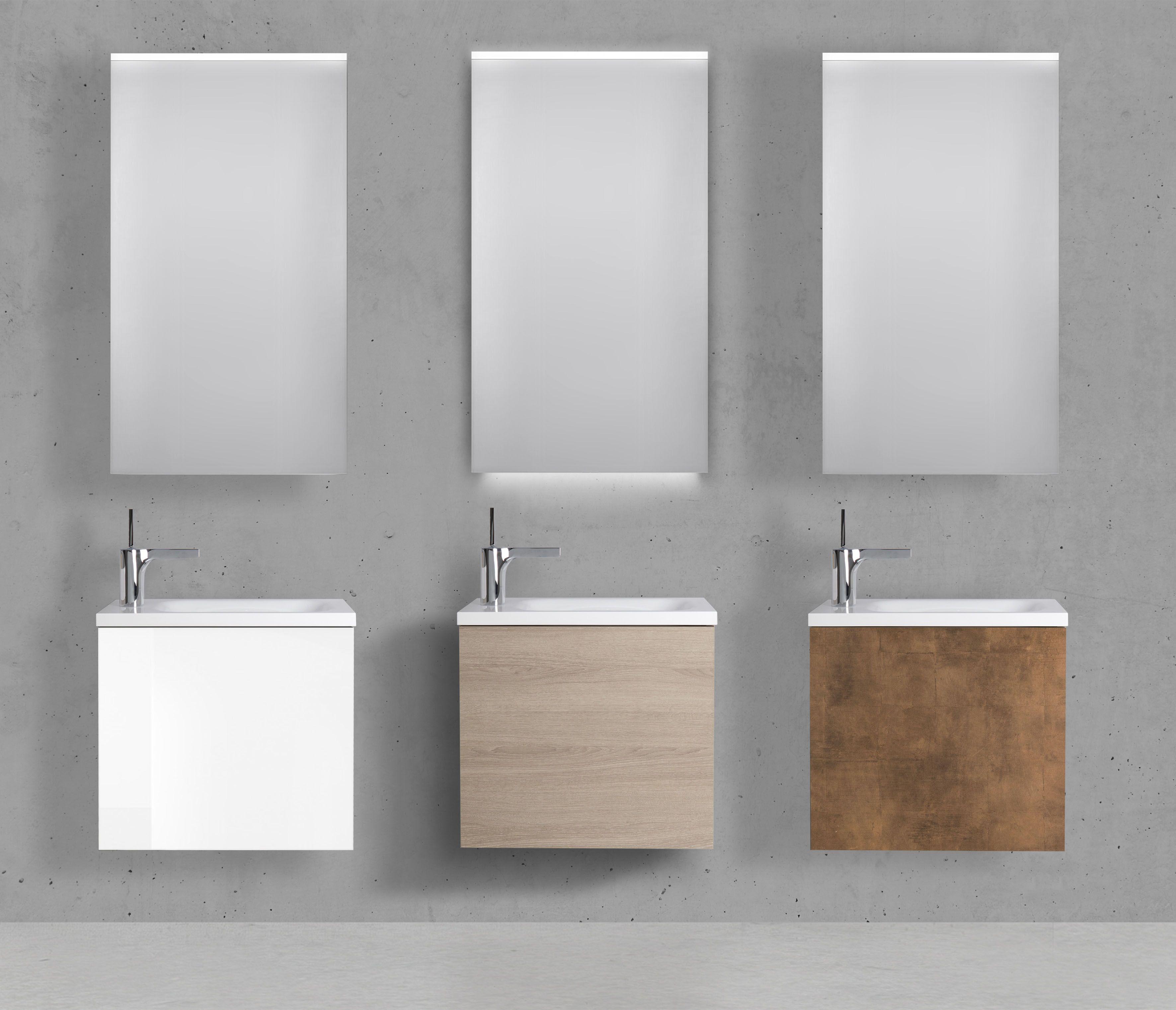 Badmobel Set Collection Rimini Gastebader Im Modernen Design Made In Germany Sie Suchen Hochwertige Badmobel Ein Kleine Badezimmer Spiegelschrank Gastebad