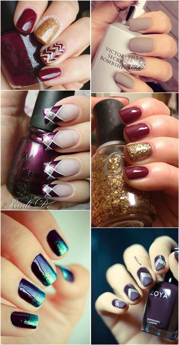 Fall Nail Art Ideas: 15 Designs Inspired by Autumn | http://www ...