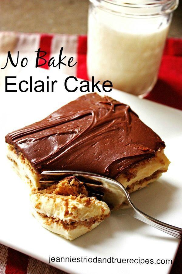 Eclair Cake images
