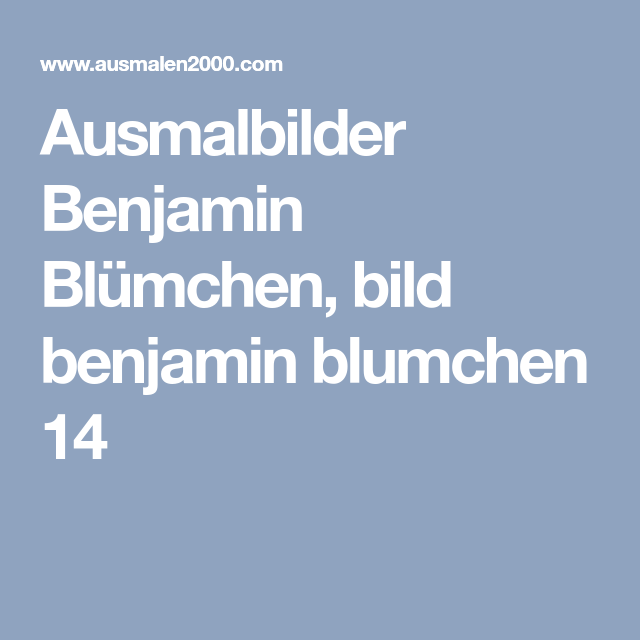 Ausmalbilder Benjamin Blümchen Bild Benjamin Blumchen 14 Oo