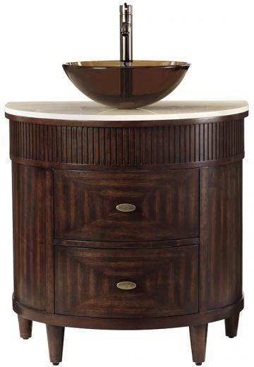Fuji Half Moon Vanity Bathroom Vanities Bath Homedecorators