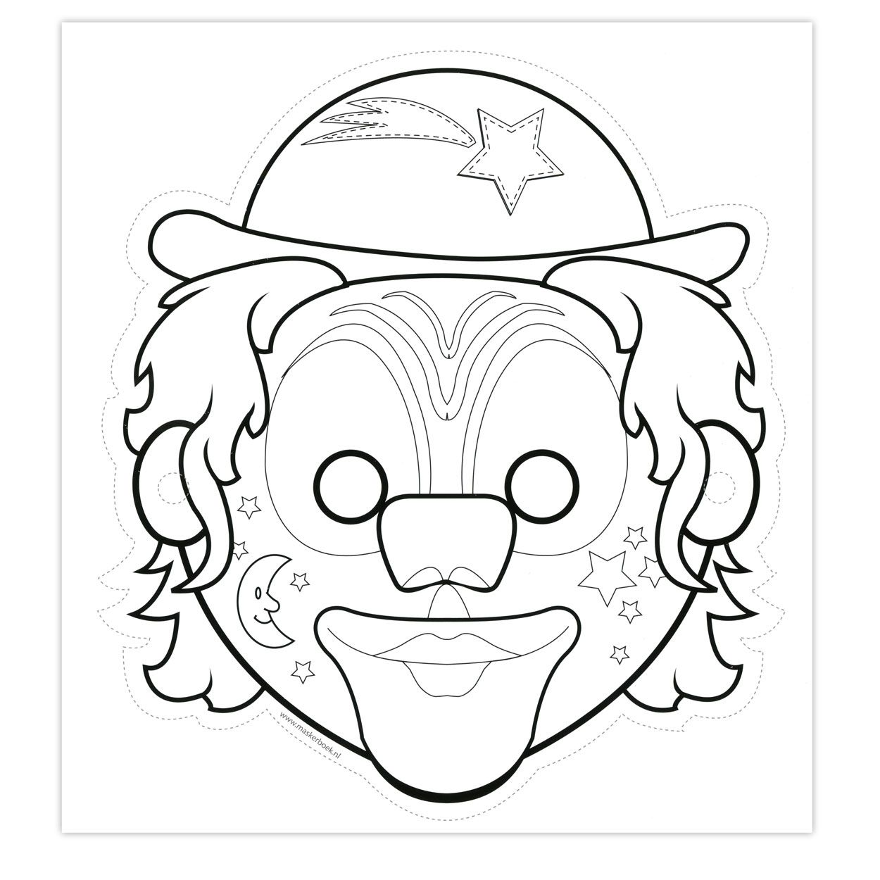 Knutselen Maskers Lobbes Google Zoeken Maskers Carnaval Thema