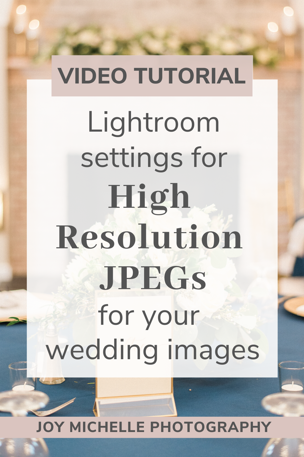 Lightroom export settings for high resolution