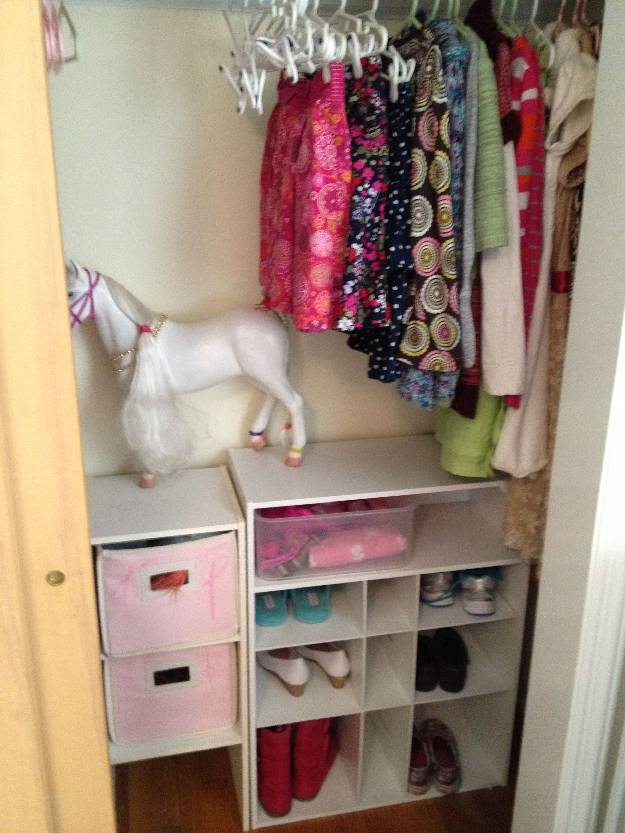 Reorganizing Room: Girl's Room Closet Reorganize- Declutter Toys And Use