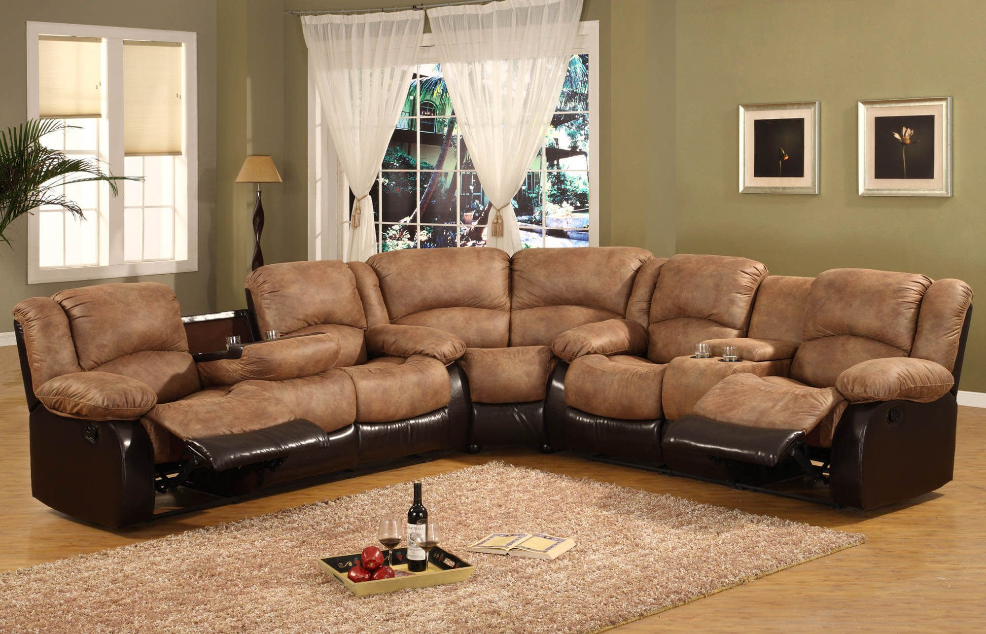 43 Awesome Comfy And Small Apartment Size Recliner Ideas In 2020 Living Room Furniture Recliner Sectional Sofa With Recliner Large Sectional Sofa