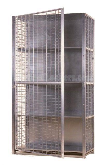 Extra Large Storage Locker Schoollockers Com Locker Storage Storage Garage Storage Solutions