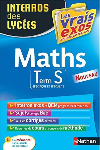 1001 exercices corrigés de mathématiques pour réussir son ...