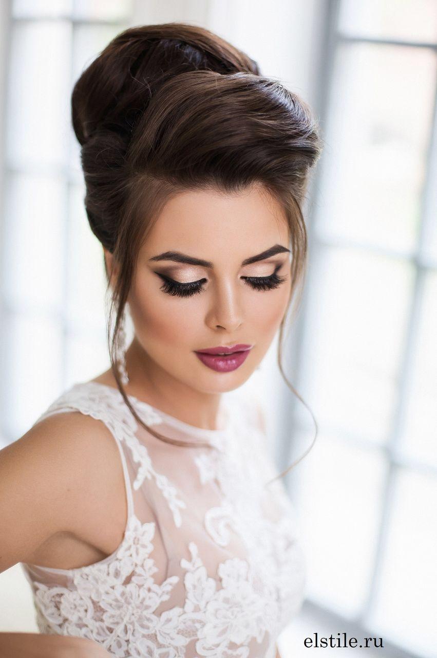 Lovely bridal look Make up, hairstyles Web: www.elstile.ru, www