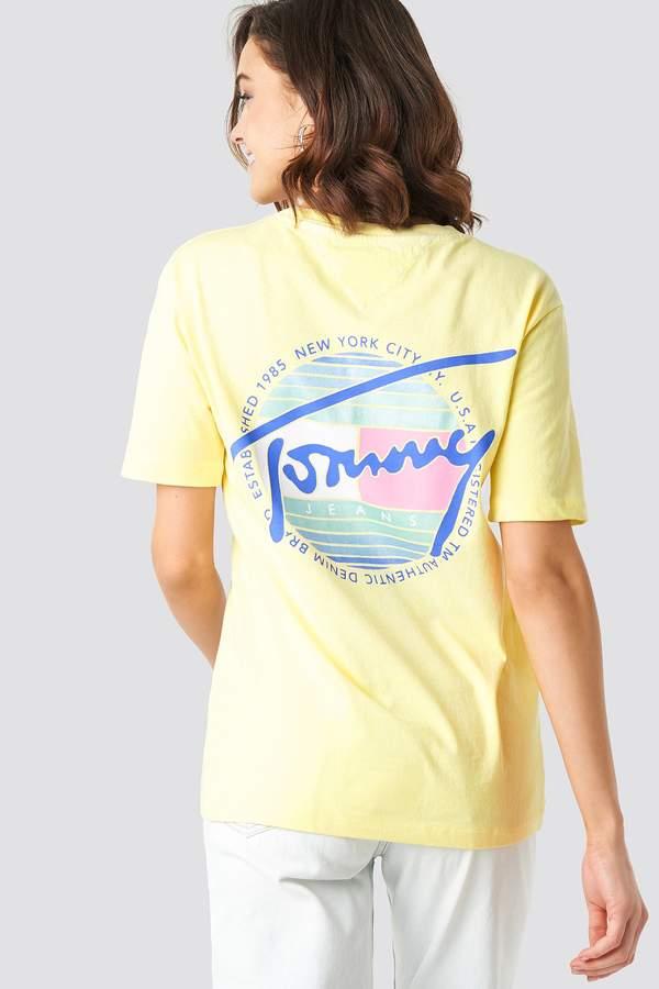 Schönes Tommy Hilfiger Herren T shirt gelb