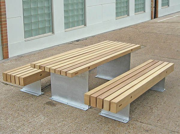 Strange Fordham Picnic Benches Table Galvanised Finish Kiln Machost Co Dining Chair Design Ideas Machostcouk