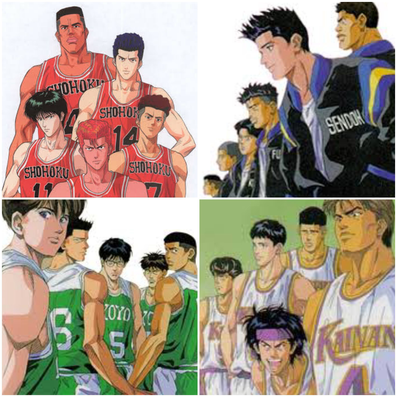 Remembering that old Basketball Anime Slam Dunk Closet