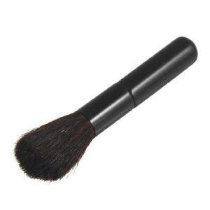 rosallini black metal housing makeup powders brush
