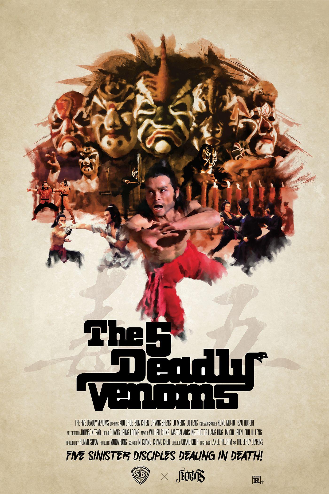 Five deadly venoms 1978 chang cheh venom movie