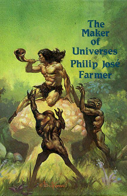 Fantasy Book Cover Generator : The maker of universes by philip jose farmer fantasy