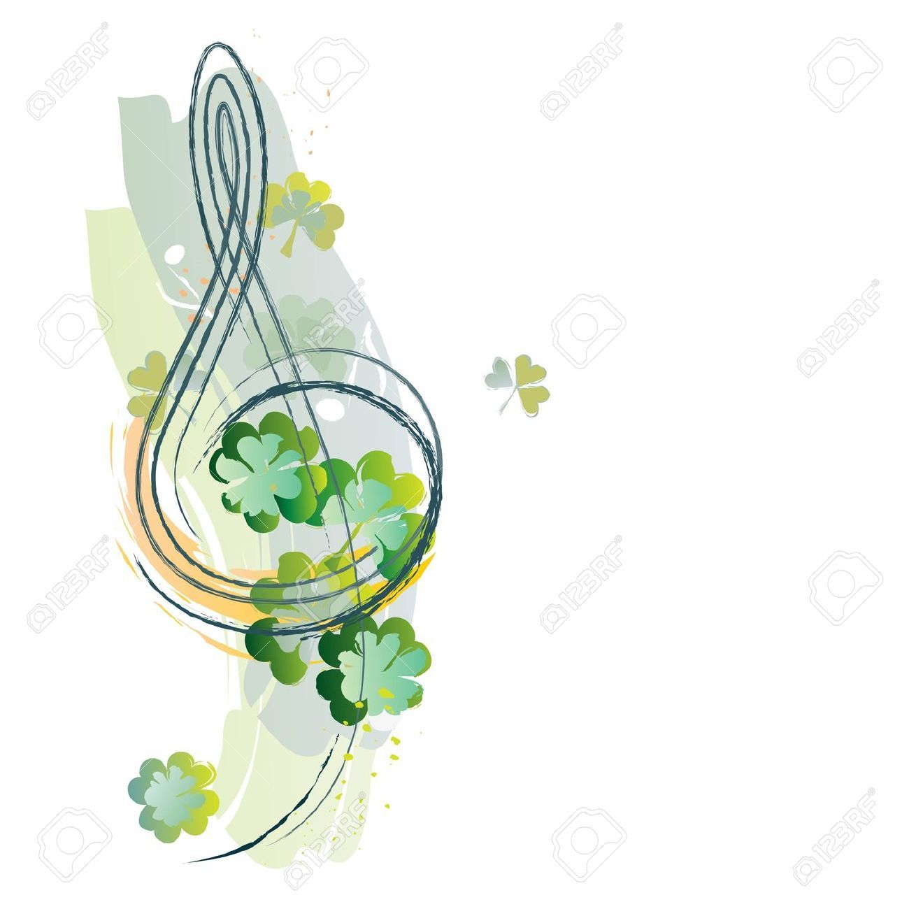 Celtic Music Stock Vector Illustration And Royalty Free