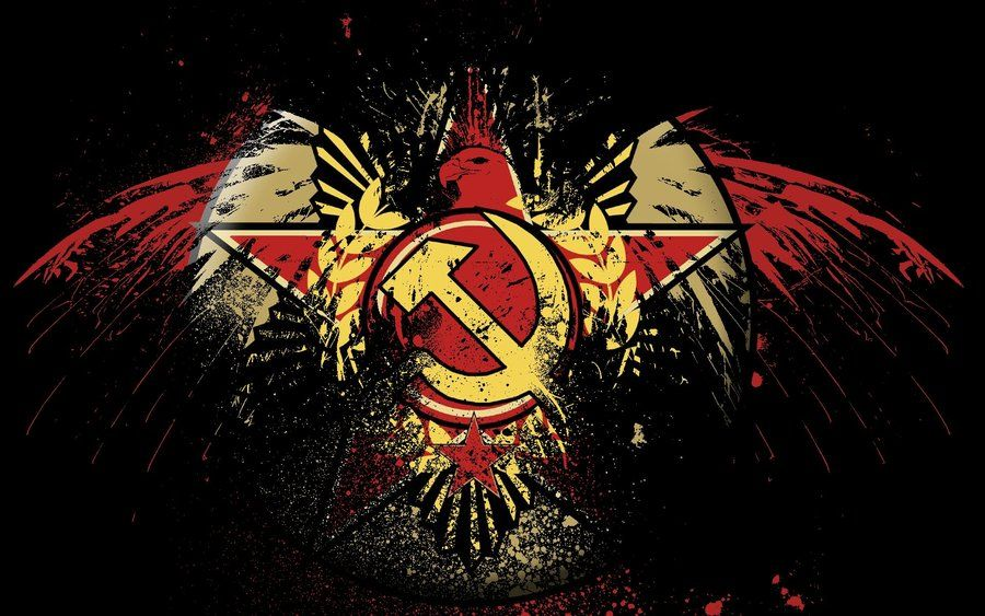 Eagle Hammer Sickle dark by Hard-Rob.deviantart.com on @deviantART