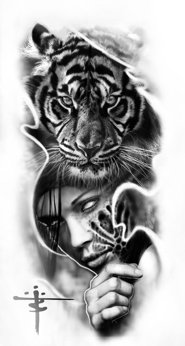 Pin By Andrew Mougios On Tattoos Tattoos Tattoo Designs Tiger Tattoo