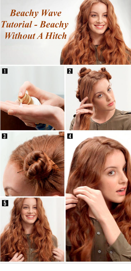 Beachy Wave Tutorial Beachy Without A Hitch 2018 Health And