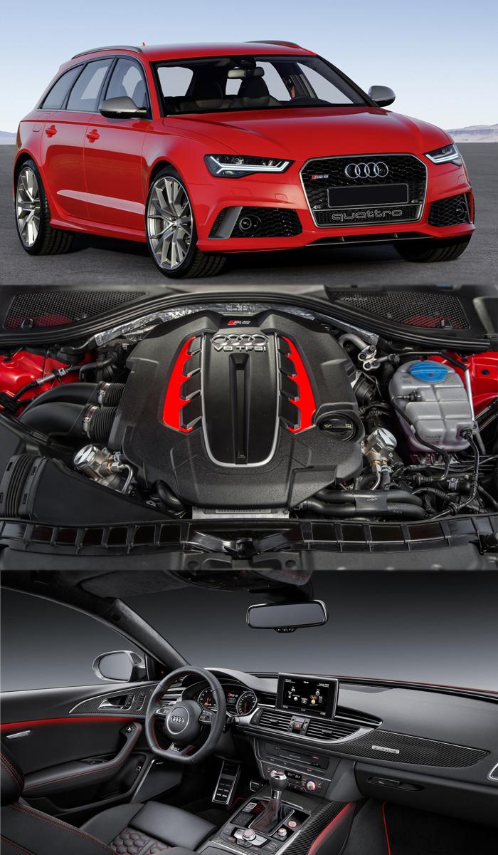 Audi avant pops up twin turbo engine