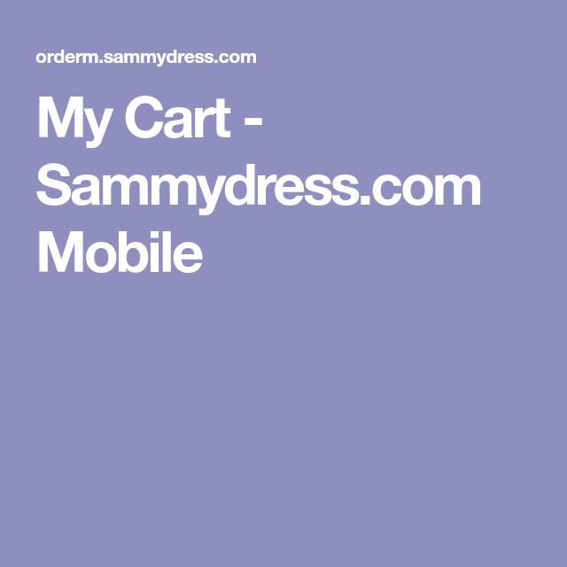 My Cart - Sammydress.com Mobile