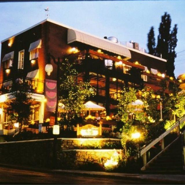 Gra Italian Restaurant In Park City Ut The Summer