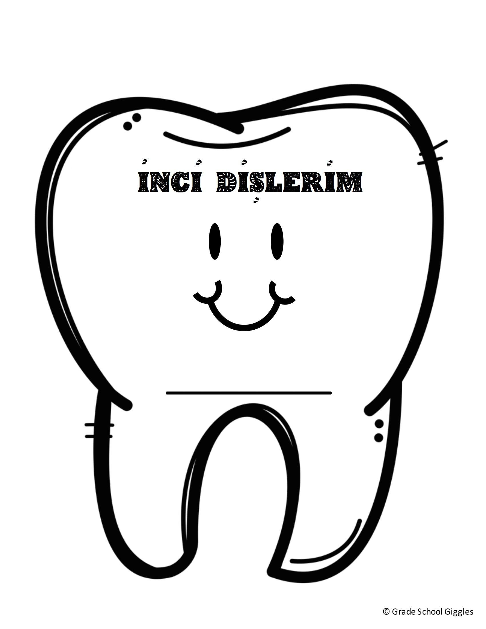 Diş Sağlığı Boyama Sayfaları Pinterest Crafts
