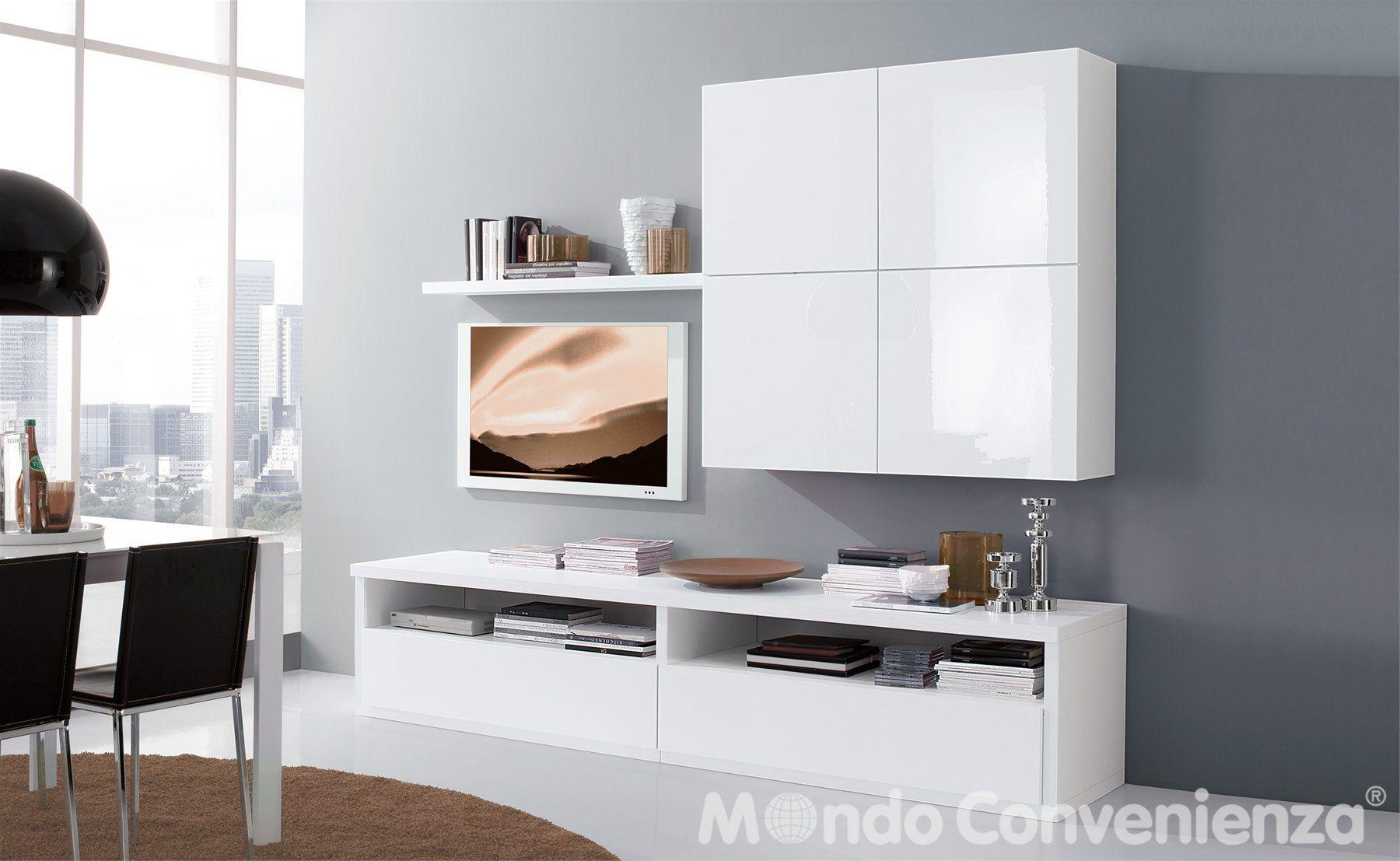 Soggiorno S 242 - Soggiorno come foto - Moderno - Mondo Convenienza ...