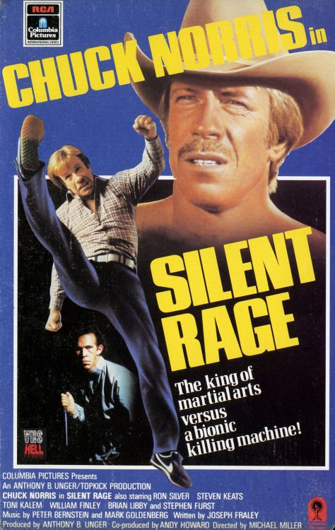 Silent Rage 1982 Action Movies In 2019 Chuck Norris