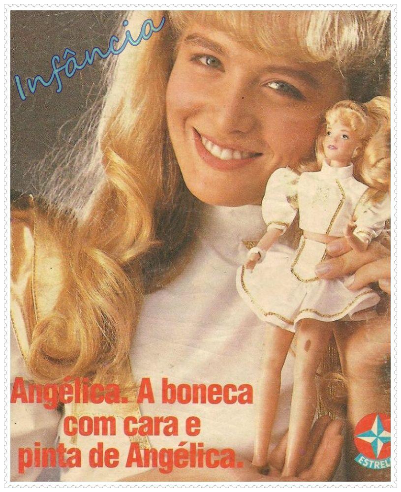 Boneca Da Angélica Nostalgia Crianças Dos Anos 80