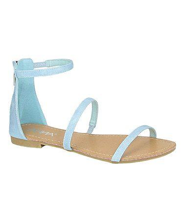 Love this Light Blue Kory Sandal on #zulily! #zulilyfinds