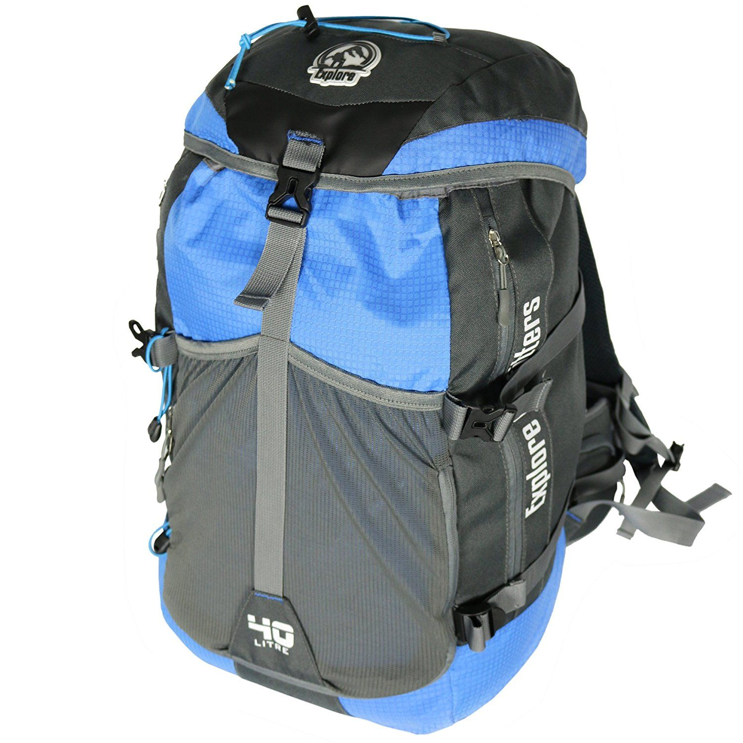 Explore Outfitters Waterproof Outdoor Hiking Backpack With ...