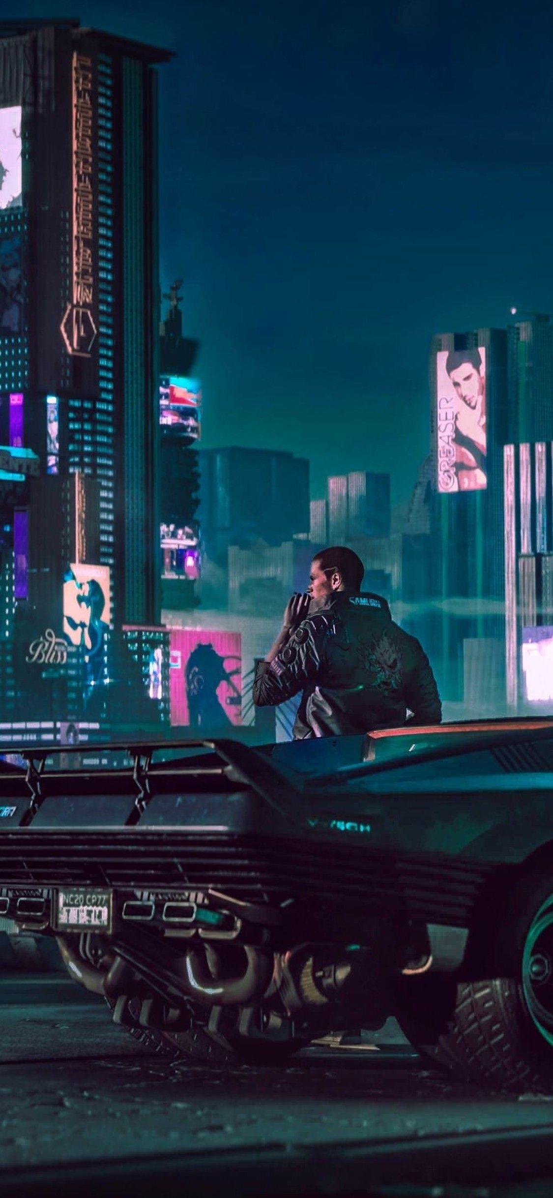 1125x2436 2018 Cyberpunk 2077 4k Iphone XS,Iphone 10