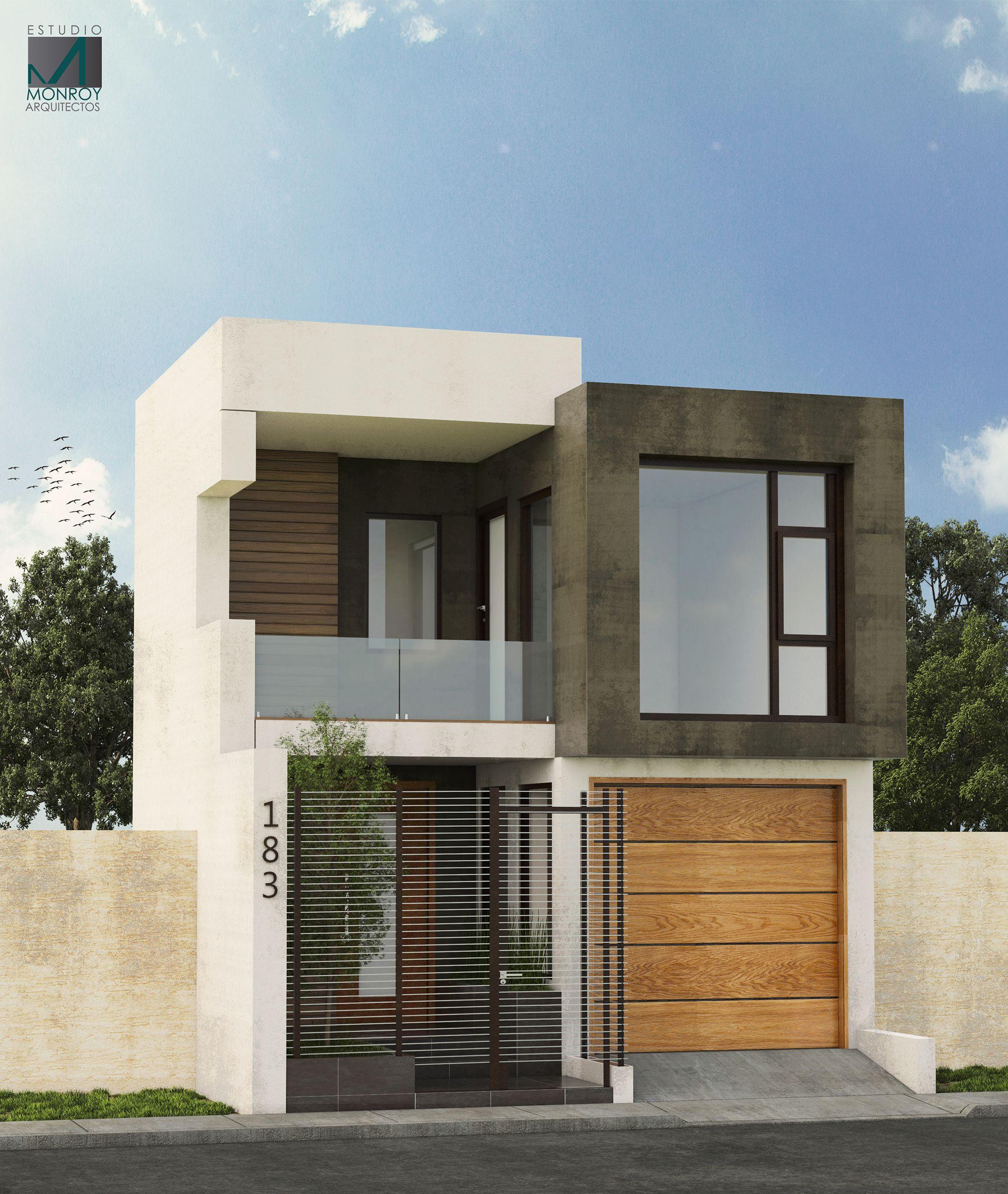 Remodelación fachada contemporánea propuesta