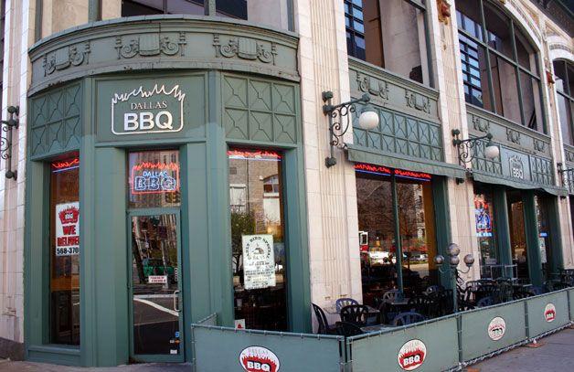 Dallas Bbq Restaurant Next To Audubon Ballroom
