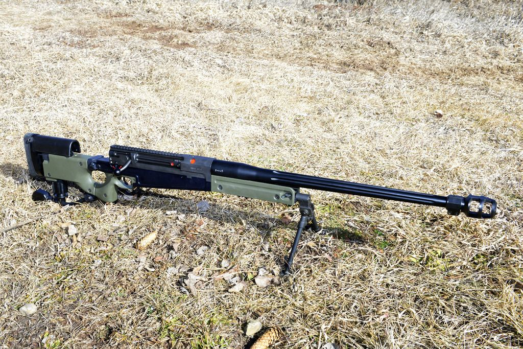 "gunrunnerhell: "" Accuracy International AW50 Bolt-action 50 caliber rifle from the company known famously for their Arctic Warfare Magnum rifles. The AW50 is quite rare in the U.S, with very few..."
