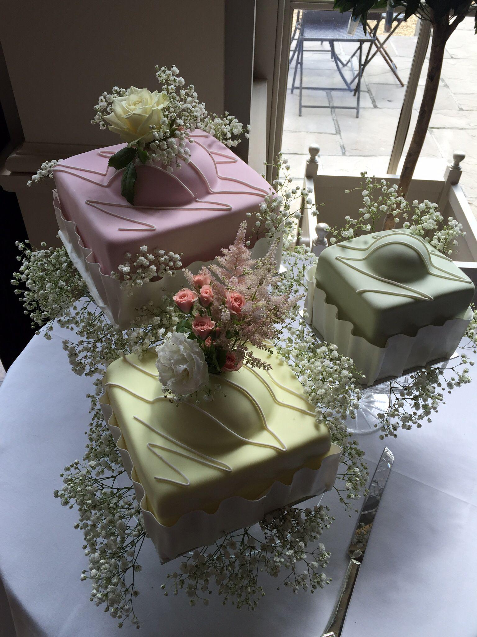 Giant French Fancy Wedding Cake Fancy Wedding Cakes Pink