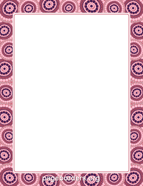 Printable aboriginal border use the border in microsoft word or free aboriginal border templates including printable border paper and clip art versions file formats include gif jpg pdf and png toneelgroepblik