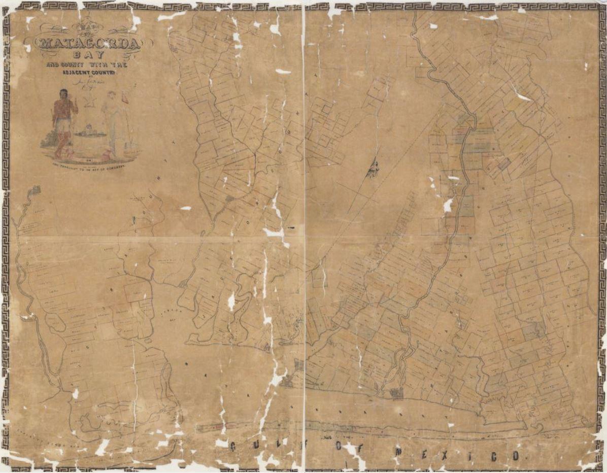 Mapping Texas: The Gulf Coast — Coastal Counties, Part 1 – Save Texas History – Medium