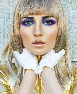 Barbarella-Inspired Makeup