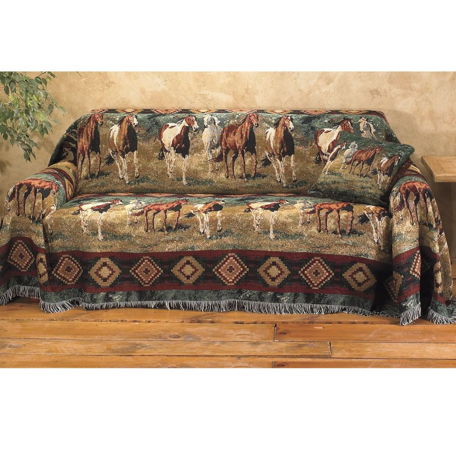 Evening Gold Large Sofa Cover 170 X 70 - Western Wear ...