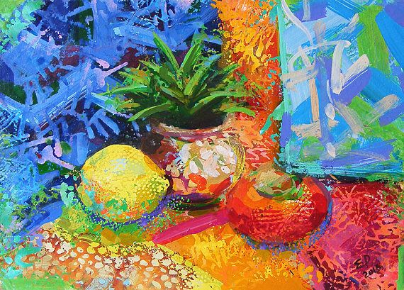 Swell Plant Painting Lemon Still Life Painting Fruits Still Life Complete Home Design Collection Epsylindsey Bellcom