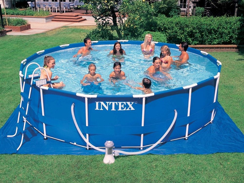 Above Ground Pools Intex Pools Above Ground Swimming Pools Intex Swimming Pool Intex