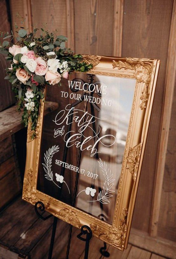 Frameless Acrylic Hand Painted Sign. Choose a size. Wedding Welcome. Ceremony Program. Menu. Reception Timeline. Seating, Tables. Lucite #weddingwelcomesign