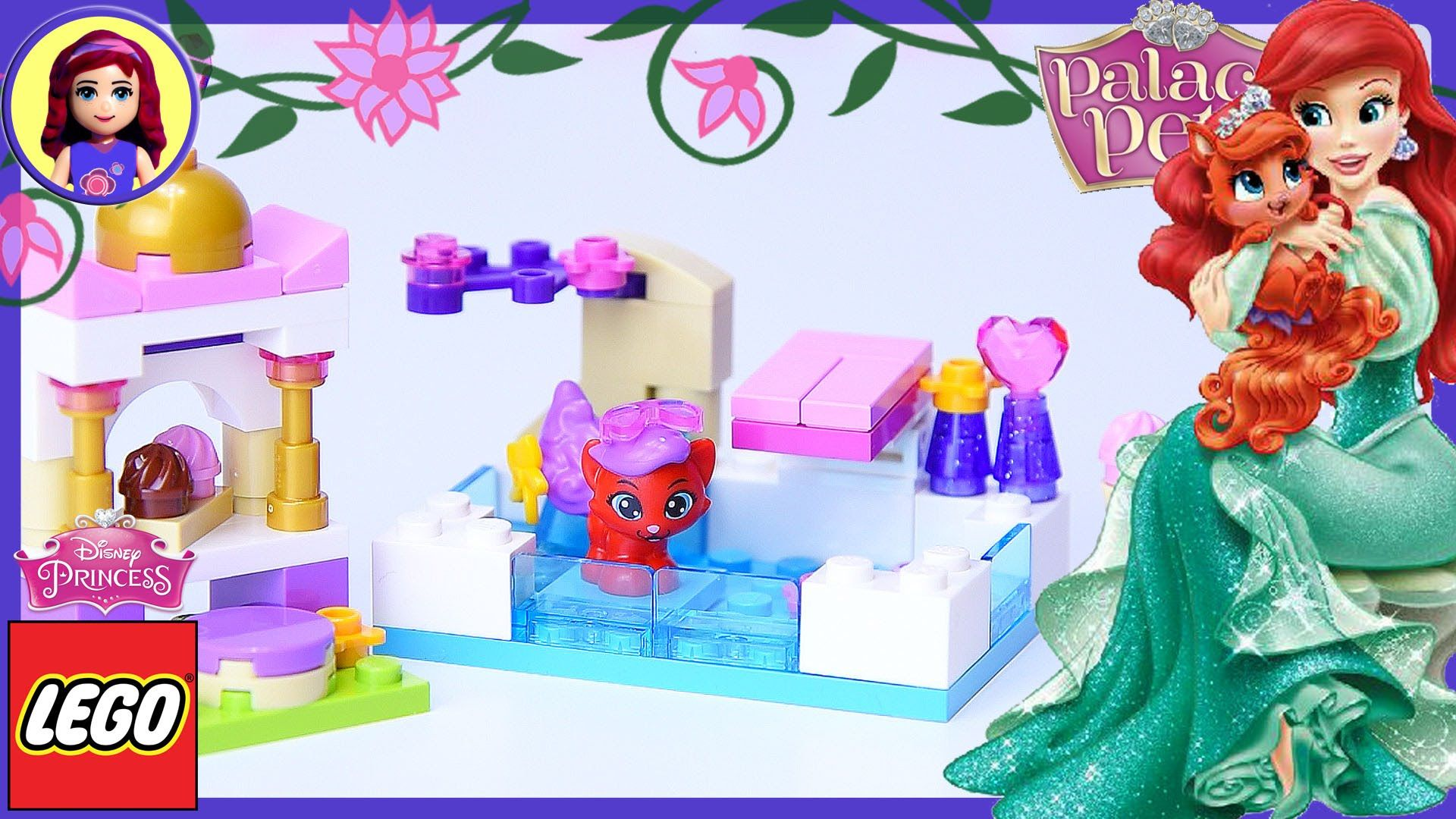 Lego Disney Princess Palace Pets Treasure S Day At The Pool Build Review Lego Disney Princess Disney Princess Palace Pets Princess Palace Pets