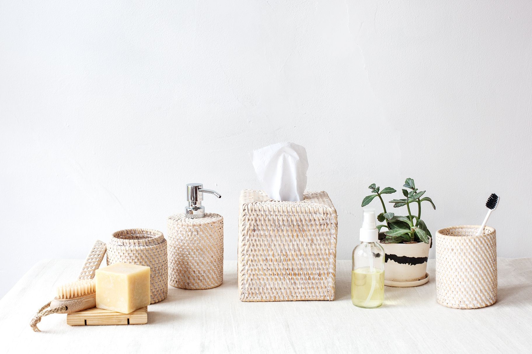 Shop decorative bathroom accessories. From matching sets to ...