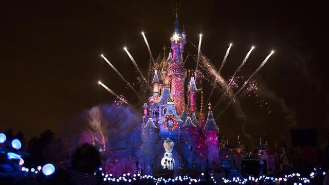 Disney Dreams of Christmas Fireworks Disneyland Paris