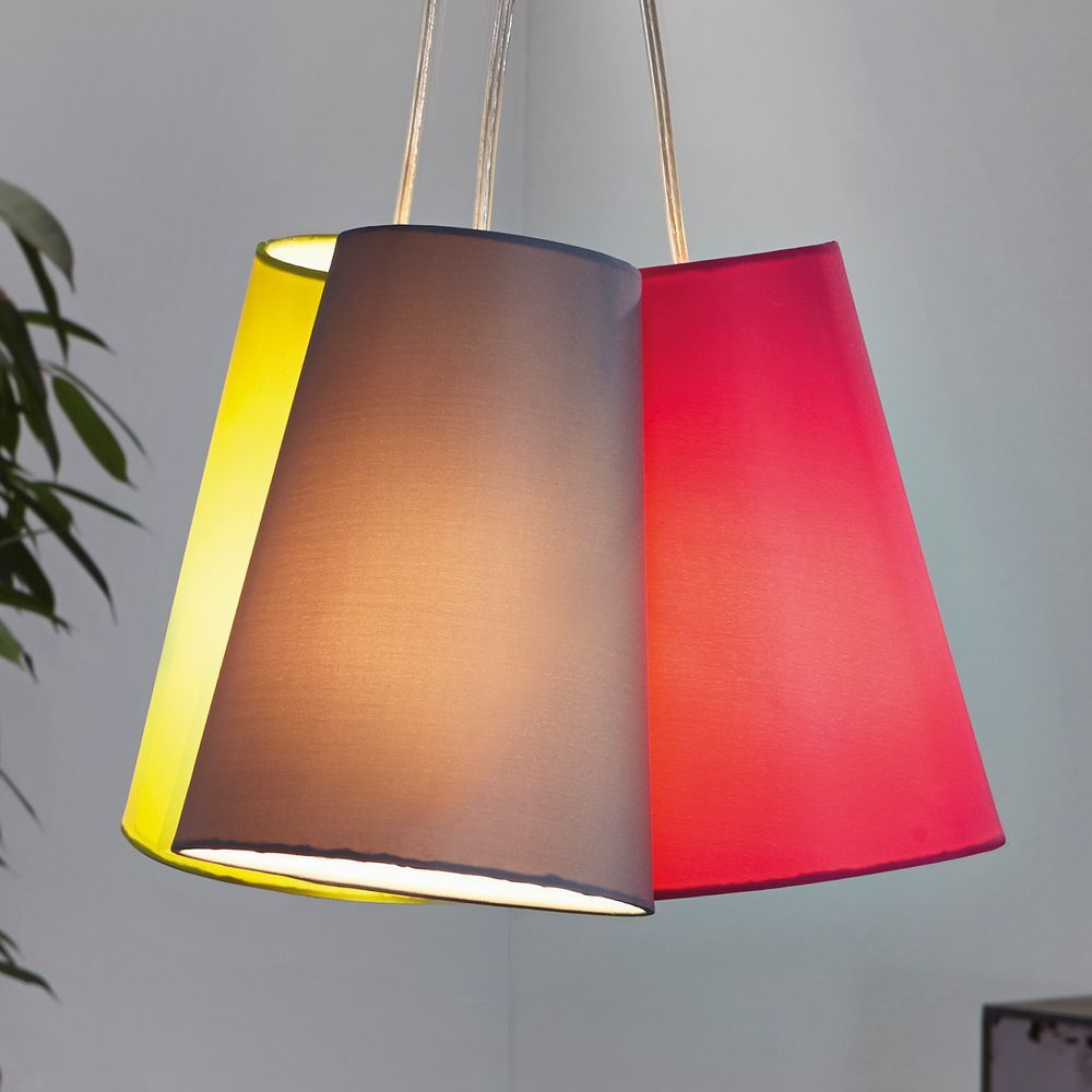 The Nevorres Triple Shade Pendant Light is a modern looking light with a  unique design.