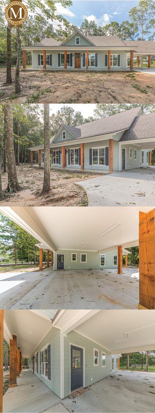 David Farmhouse Floor Plan South Louisiana New Homes In 2020 Farmhouse Floor Plans Barn House Plans New House Plans