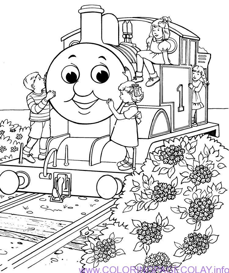 Best Simple Thomas The Train Coloring Pages - http ...