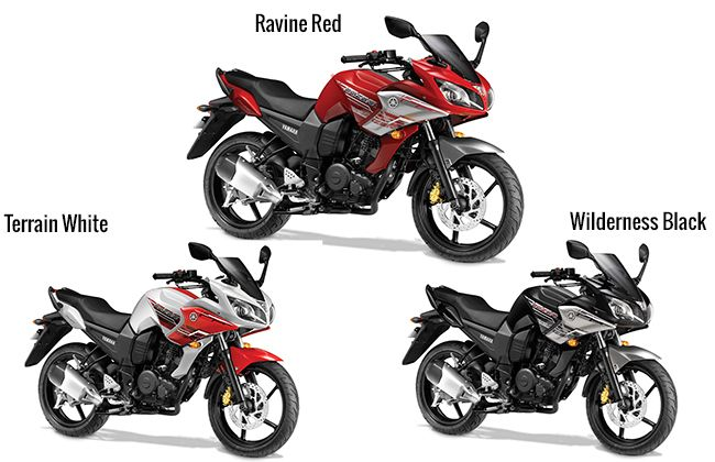 Yamaha Fazer Fzs And Fz16 Gets New Colour Schemes Yamaha Fazer